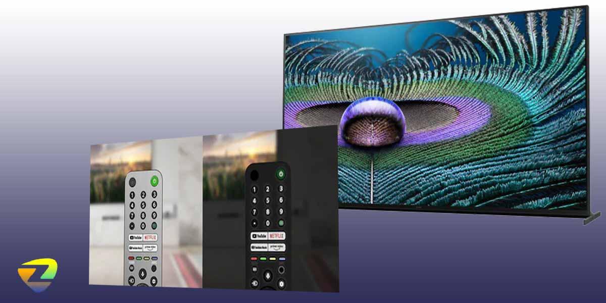 ریموت کنترل تلویزیون سونی Z9J