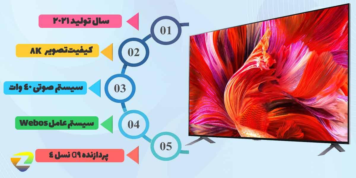 مقدمه ی تلویزیون ال جی QNED95