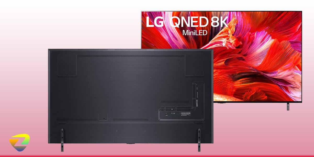 طراحی تلویزیون ال جی QNED95